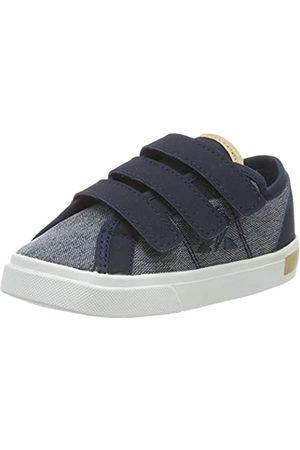 Le Coq Sportif Unisex-Kinder Verdon INF Denim Sneaker, (Dress Blue Dress Blue)