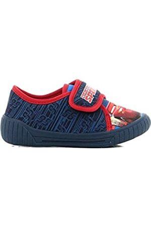 Cars Jungen Boys Kids Houseshoes Velcro Low Niedrige Hausschuhe, (Dark Blue)