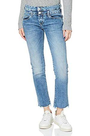 Herrlicher Damen Baby Cropped Denim Stretch Jeans
