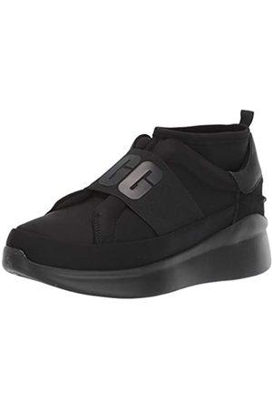 UGG Female Neutra Sneaker Shoe, Black/Black