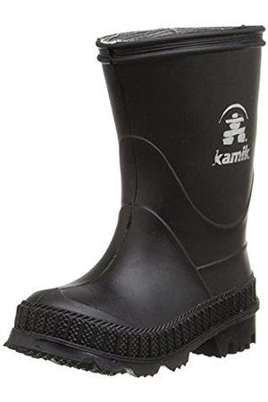 Kamik STOMP, Unisex-Kinder Kurzschaft Gummistiefel, (Black-Noir)