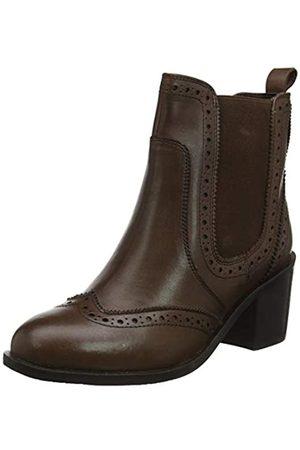 JOEBF #Joe Browns Damen Dapper Debbie Leather Chelsea Boots Kurzschaft Stiefel, (Brown A)