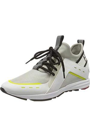 HUGO BOSS Damen Hybrid_Runn_mxrf 10224049 01 Sneaker, (White 100)