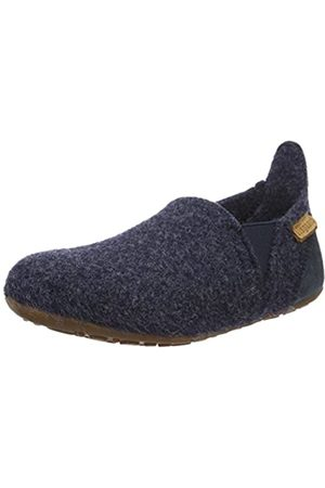 Bisgaard Unisex-Kinder Wool Sailor Slipper, (20 Blue)