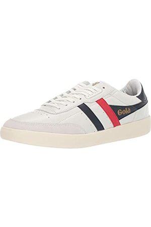 Gola Herren Cma686 Sneaker, (White/Navy/RED XE)