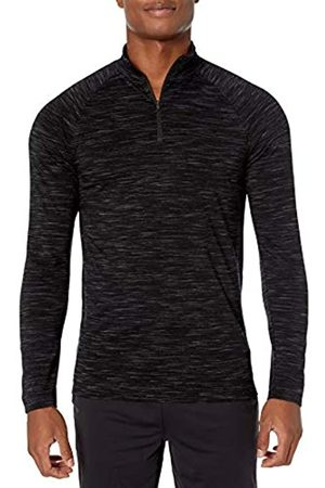 Peak Velocity Merino Jersey Quarter-Zip Mock-Neck Long Sleeve Athletic-Shirts