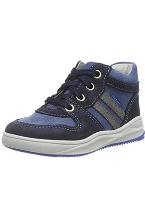 Richter Kinderschuhe Jungen Harry Hohe Sneaker, (Atlantic/River/Ash 7204)
