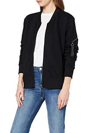 Timezone Damen Bomber Sweat Zipper Jacket Sweatshirt