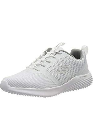 Skechers Men's Bounder Trainers, White (White Wht)