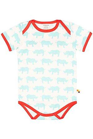 loud + proud Unisex Baby Body kurz mit Druck, aus Bio Baumwolle, GOTS zertiziziert
