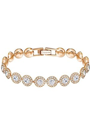 Swarovski Angelic Armband für Frauen, weißes Kristall