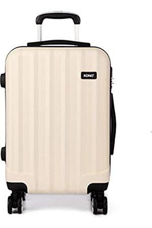 Kono Zwillingsrollen Hartschale ABS Koffer Trolley Reisekoffer Rollkoffer Handgepäck (