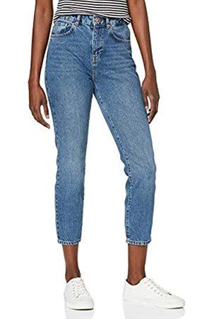 Noisy May NOS DE Damen NMISABEL HW ANKL MOM JNS KI018MB BG NOOS Straight Jeans