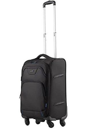 LIGHTPAK Reisetrolley LUNAR, Rollkoffer aus Polyester, Reisekoffer mit Vier 360° Leichtlauf-Rollen Koffer, 60 cm
