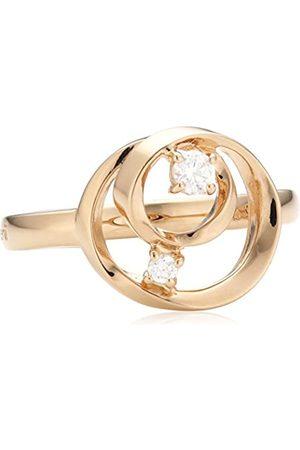 MERII Damen-Ring 925 Sterling Silber rhodiniert Zirkonia Gr.54 (17.2) M0715R/90/03/54