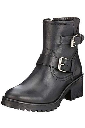 Steve Madden Damen Gain Ankleboot Kurzschaft Stiefel, (Black Leather 017)