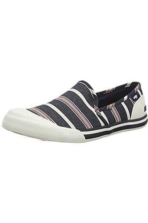 Rocket Dog Damen Jazzin Slip Slip On Sneaker, (Elgin Blue B00)