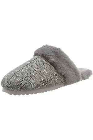 flip*flop Damen slipknit Pantoffeln, (Grey 0300)