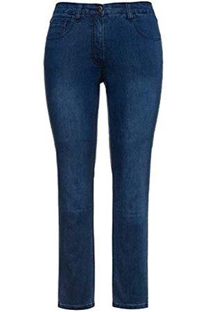 Ulla Popken Damen Sarah, 5-Pocket, Stretch, schmales Bein Skinny Jeans