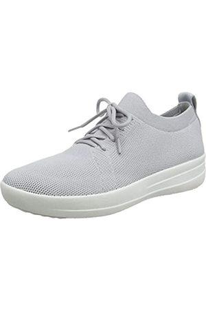 FitFlop Damen Uberknit F-Sporty Sneaker, Elfenbein (Pearl 618)