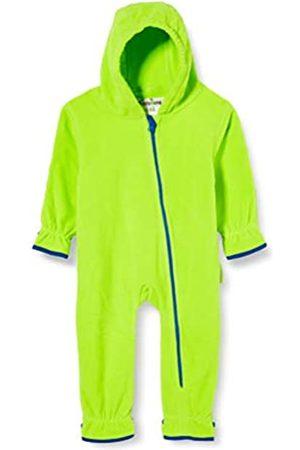 Playshoes Unisex Baby Fleece-Overall Farblich Abgesetzt