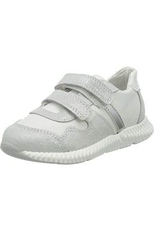 Primigi Mädchen Scarpa Bambina Sneaker, (Argento/Bianco 5424133)