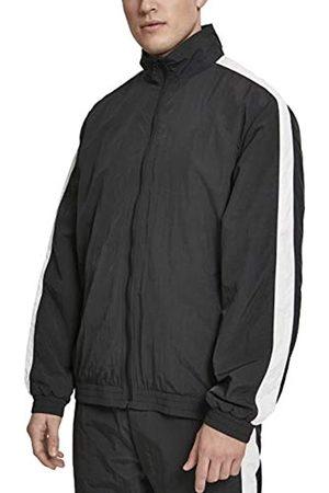 Urban classics Herren Striped Sleeve Crinkle Track Jacket Jacke