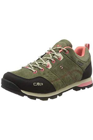 CMP – F.lli Campagnolo Damen Alcor Low Wmn Shoes Wp Trekking- & Wanderhalbschuhe, (KAKI F854)