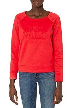 Armani Damen Double Knit, Side Logo Sweatshirt