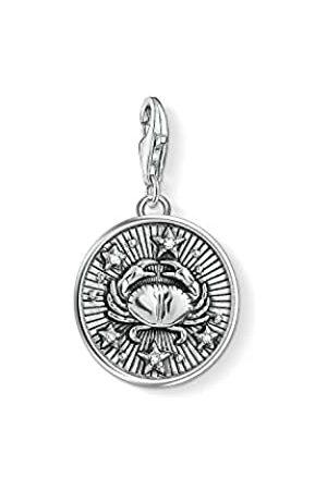 Thomas Sabo Damen Herren-Charm-Anhänger Sternzeichen Krebs Charm Club 925 Sterling Silber 1643-643-21