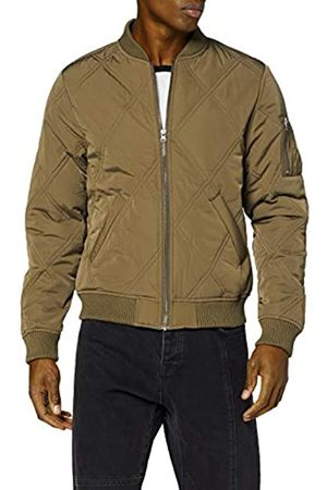 Urban classics Herren Big Diamond Quilt Jacket Bomber Jacke