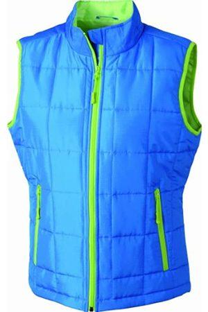 James & Nicholson Damen Outdoor Weste Steppweste Padded Light Weight (aqua/limegreen) XX-Large