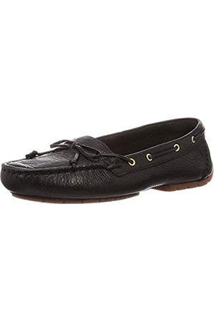 Clarks Damen C Mocc Boat Mokassin, (Black Leather Black Leather)