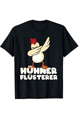 Landwirtschaft & Hühner Geschenk-Ideen Hühner-Flüsterer Landwirt Dabbing Hühnerflüsterer Huhn T-Shirt