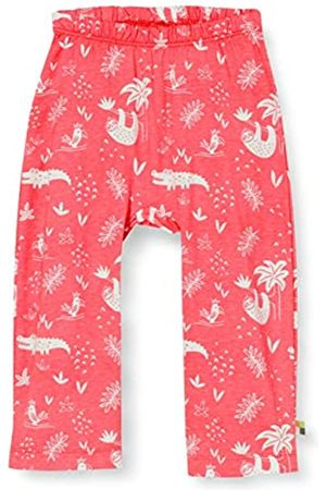 loud + proud Mädchen Pant Allover Print Organic Cotton Hose