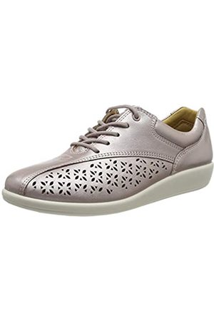 Hotter Tone, Damen Oxford Schnürhalbschuhe, (Mauve Metallic Punch 316)