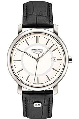 Soehnle Bruno Söhnle Herren Analog Quarz Uhr mit Leder Armband 17-13142-241