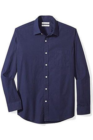 Amazon Long-Sleeve Solid Poplin Shirt Hemd