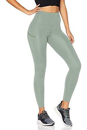 AURIQUE Amazon-Marke: Damen Lauf-Leggings mit hohem Bund, 38
