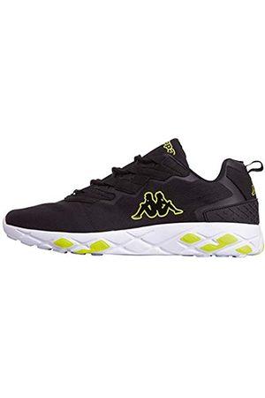 Kappa Unisex-Erwachsene Stratus PC Sneaker, (Black/Yellow 1140)