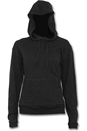 Spiral Damen Metal Streetwear-Street Ribbed Large Hood Hoodie Kapuzenpullover