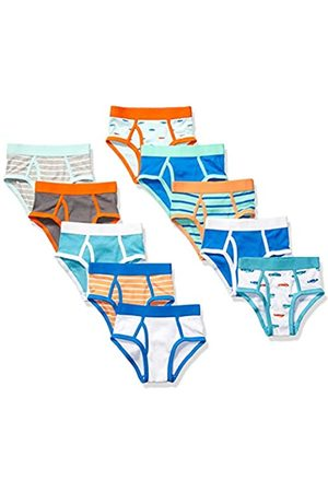 Amazon 10-Pack Brief underwear, Cars and Stripes