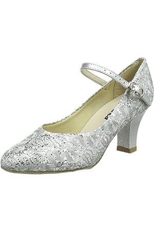 So Danca Bl166, Damen Standard & Latein, (Silver Sparkle)