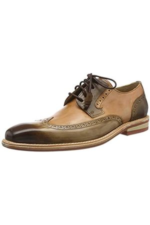 Melvin & Hamilton Herren Marvin 13 Brogues, (Mid Brown Tan Crust-Mid Brown)
