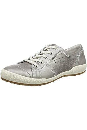 Josef Seibel Damen Caspian Sneakers, (Platinum)