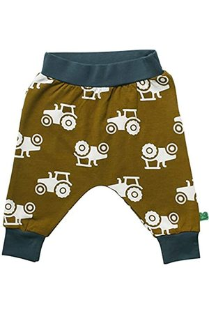 Green Cotton Baby-Jungen Tractor Pants Hose