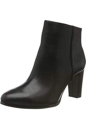 Clarks Damen Kaylin Fern Stiefeletten, (Black Leather Black Leather)