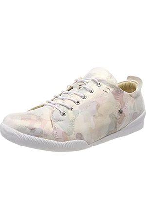 Andrea Conti Damen 0345742 Sneaker, Mehrfarbig (Mint/Kombiniert)
