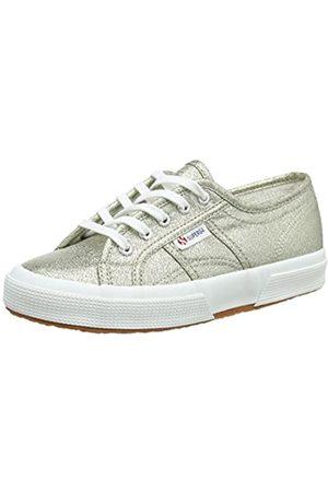 Superga Unisex Kinder 2750 Lamej Sneakers, (Platinum)