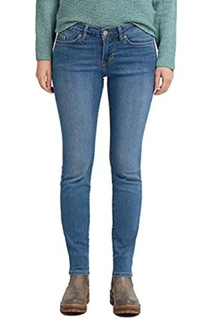 Mustang Damen Slim Fit Caro Jeans, Blau (Medium Bleach 302)